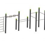Wall – Wave – 5 Pull Up Bars – Parallel Bar StreetWorkout