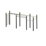 Wall – Wave – Monkey Bars – 3 Pull Up Bars StreetWorkout