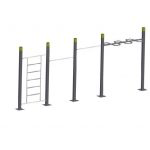 Pull Up Bars Double – Wavebar – Wall StreetWorkout
