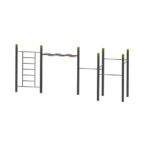 Wall – Wave – 5 Pull Up Bars StreetWorkout
