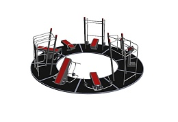 Complete Circle on floorProfessional SportPoint Strength